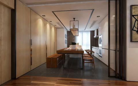 餐厅走廊现代欧式风格装潢图片