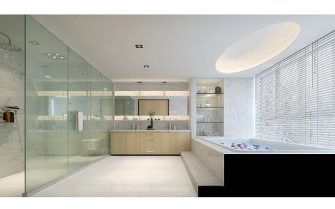 卫生间吊顶现代欧式风格装修设计图片