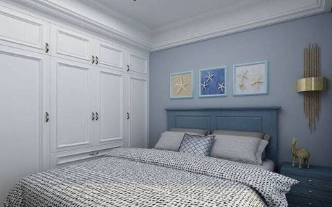 儿童房照片墙简欧风格装饰设计图片