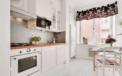 厨房隔断现代简约风格效果图