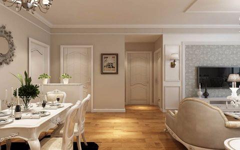 玄关门厅简欧风格装潢效果图