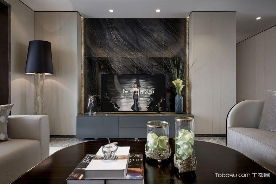 青岛星河湾203㎡3室2厅3现代风格装修效果图