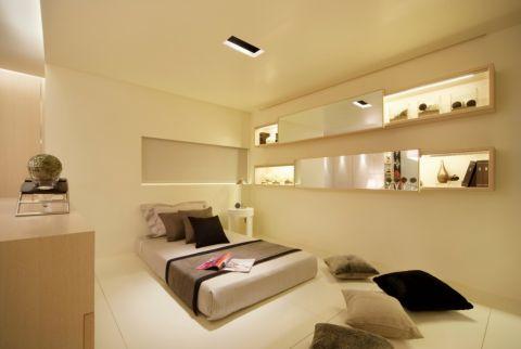 河西青桐园110平简欧风格三居室装修效果图