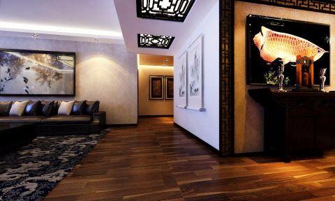 玄关走廊简中风格效果图