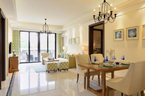 禹州中央广场100平现代简约三居室装修效果图