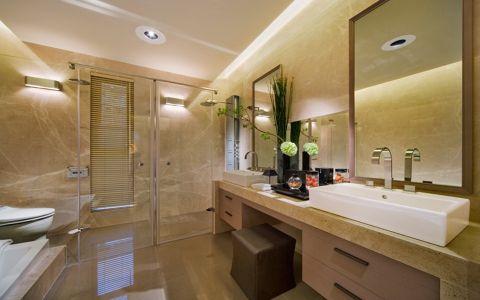 卫生间走廊日式风格装修效果图