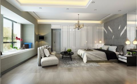 卧室沙发现代风格装饰图片