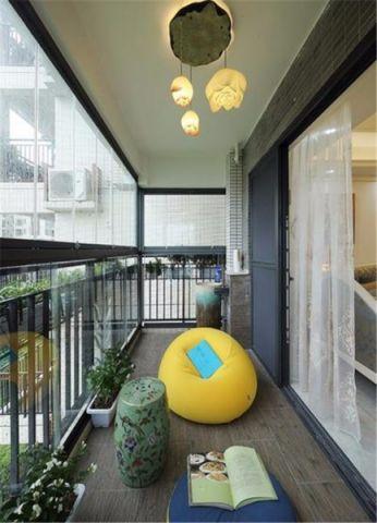 阳台吊顶简欧风格装修效果图