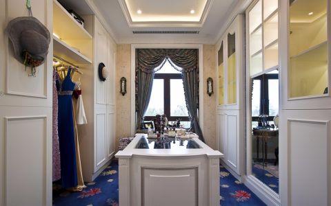 衣帽间吊顶欧式风格装潢设计图片