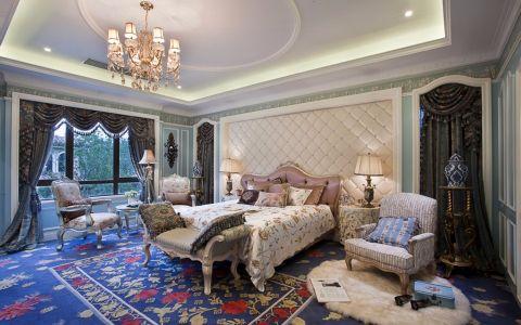 卧室吊顶欧式风格装潢效果图
