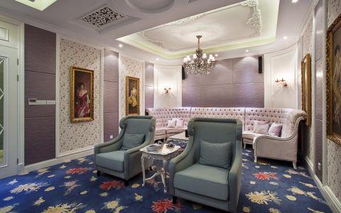 卧室照片墙欧式风格装修图片