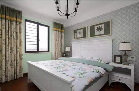 卧室照片墙美式风格效果图