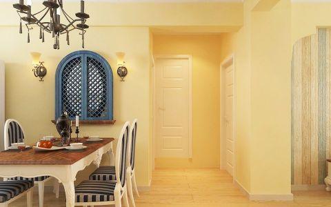 餐厅走廊混搭风格装潢设计图片