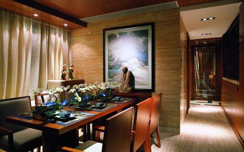 餐厅走廊中式风格装修设计图片