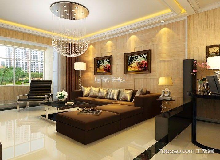 万科蓝山古典风格四室两厅装修效果图