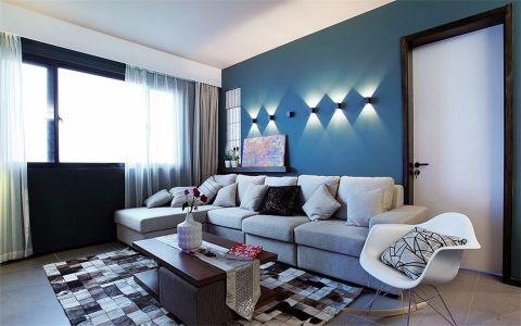 客厅照片墙现代风格装饰设计图片