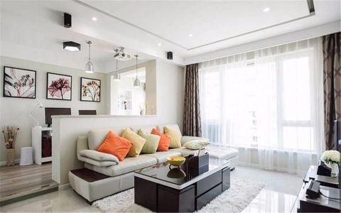 5万预算120平米公寓装修效果图