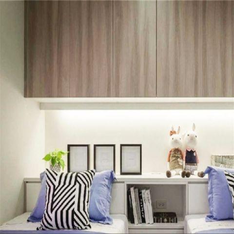 客厅榻榻米现代简约风格装饰效果图