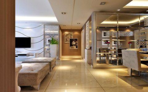 玄关走廊现代欧式风格装饰图片