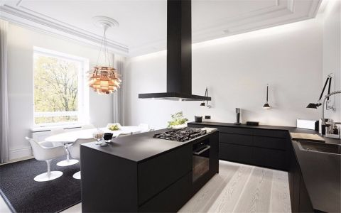 厨房橱柜现代风格效果图