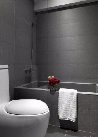 卫生间背景墙现代风格装饰设计图片