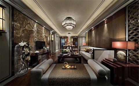 星河国际180平方中式风格公寓装修效果图