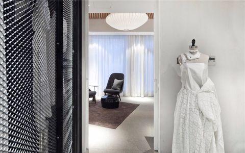 婚纱店现代风格服装店装修效果图