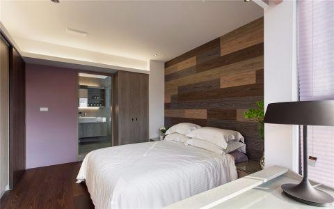 现代简约卧室床装修案例