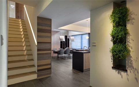 玄关楼梯现代简约风格装饰设计图片