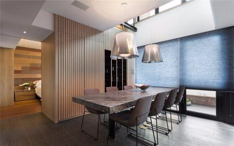 典雅餐厅现代简约设计图欣赏