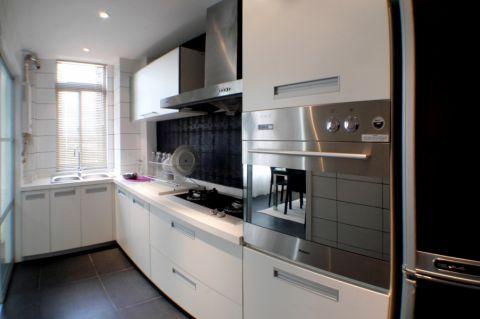简约厨房橱柜构造图