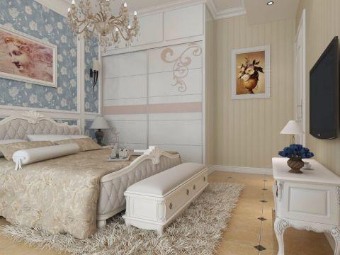 卧室衣柜现代简约风格装潢效果图
