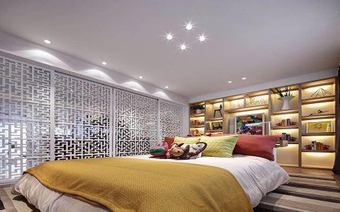 卧室隔断现代风格装饰效果图