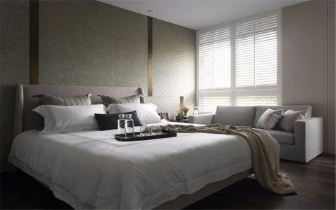卧室白色床家装设计图