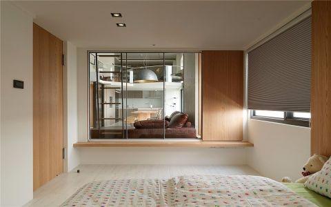 卧室推拉门现代风格装饰设计图片