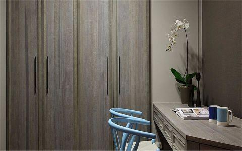 卧室书桌现代风格装潢设计图片