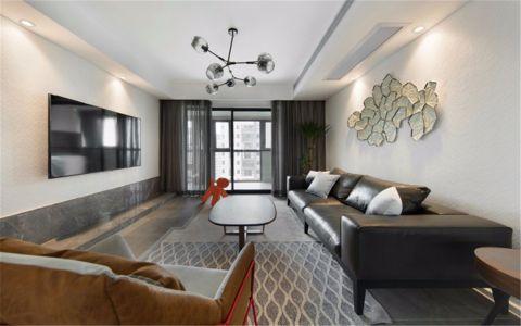 5万预算128平米四室两厅装修效果图