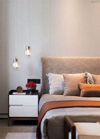 卧室床头柜新中式风格效果图