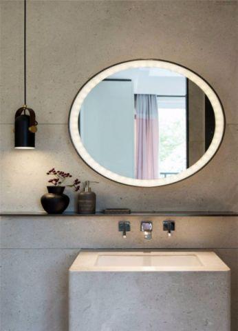 卫生间洗漱台新中式风格装修效果图
