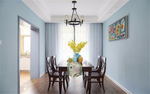 美好餐厅餐桌装修实景图片