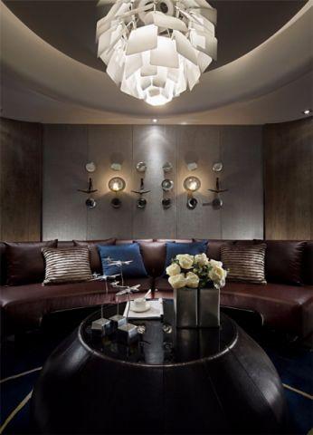 客厅沙发后现代风格装修效果图