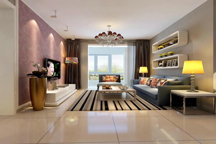 2室1卫1厅84平米新古典风格