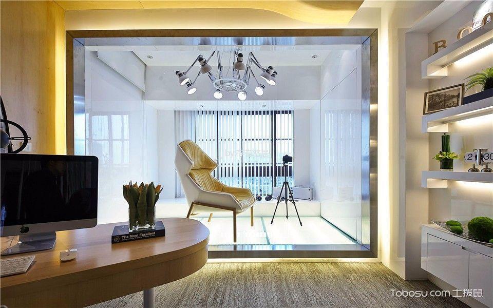 阳台白色窗帘现代风格效果图