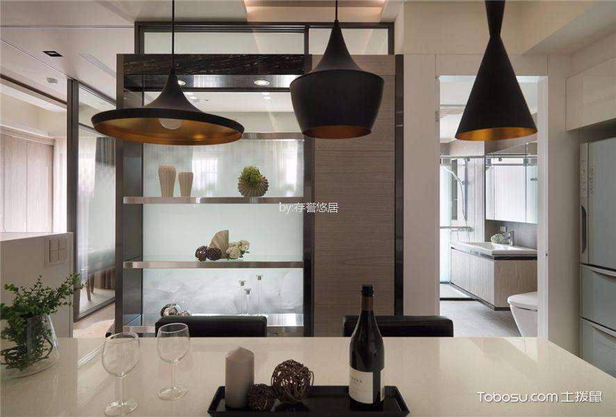 厨房黑色细节现代风格装潢设计图片
