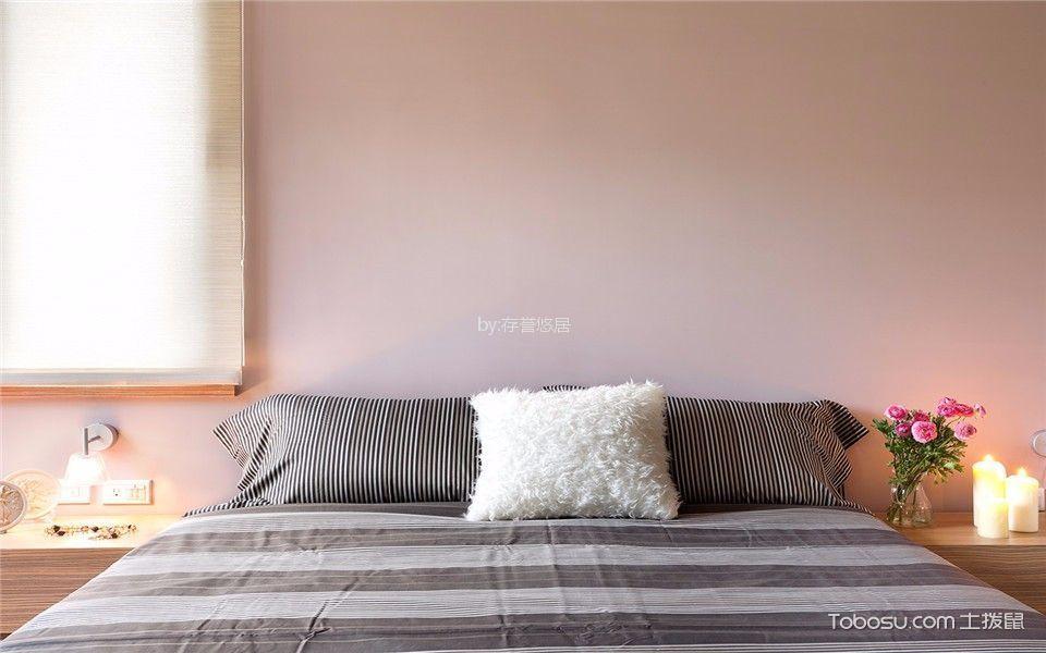 独具一格粉色背景墙设计图