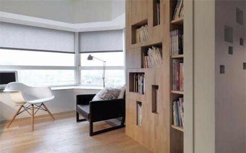 书房书架现代风格装饰效果图