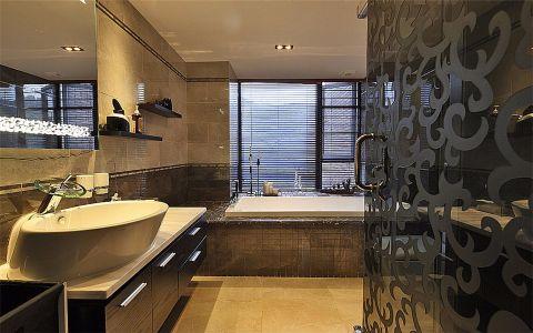 浴室洗漱台现代简约风格装饰效果图
