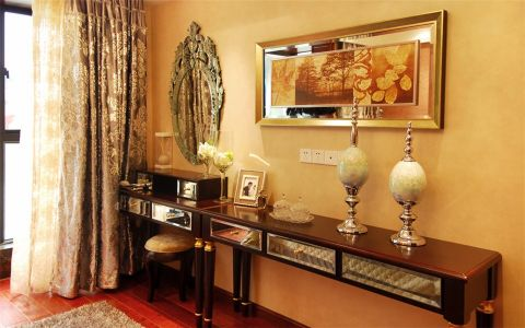 卧室梳妆台欧式风格装饰设计图片