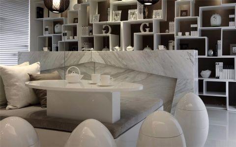 起居室茶几后现代风格装修设计图片