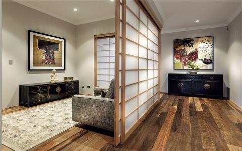 玄关白色走廊现代简约风格装饰图片